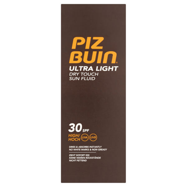 Piz Buin Ultra Light Dry Touch Sun Fluid - High SPF30 150ml