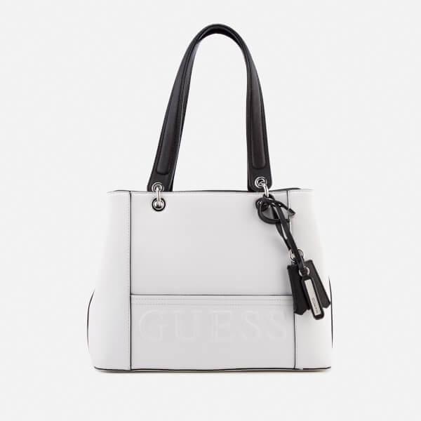 Guess Women's Kamryn Shopper Bag - White/Multi