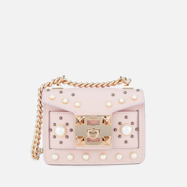 SALAR Women s Gia Pearl Bag - Soft Pink  Image 1