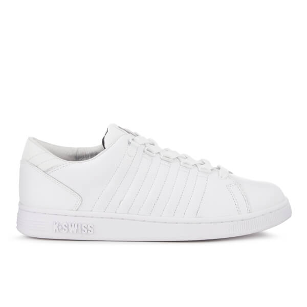 K-Swiss Men's Lozan III Tongue Twister Reflective Trainers - White/Black