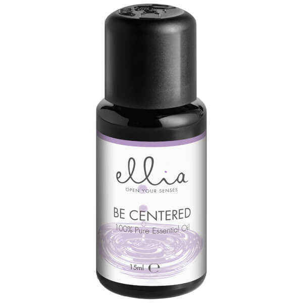 Ellia Aromatherapy Essential Oil Mix for Aroma Diffusers - Be Centered 15ml