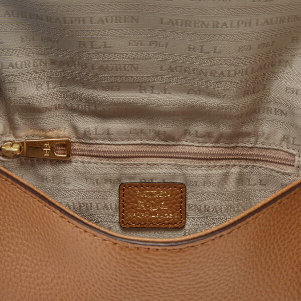 55780cc509404 ... wholesale lauren ralph lauren womens anstey carmen cross body bag  caramel image 5 f6fce 3c59e