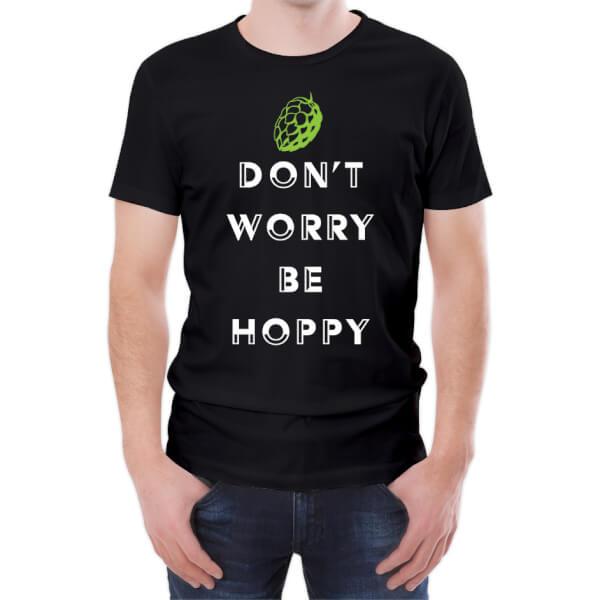 Don't Worry Be Hoppy Men's T-Shirt