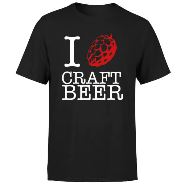 T-Shirt Homme I Hop Craft Beer -Noir
