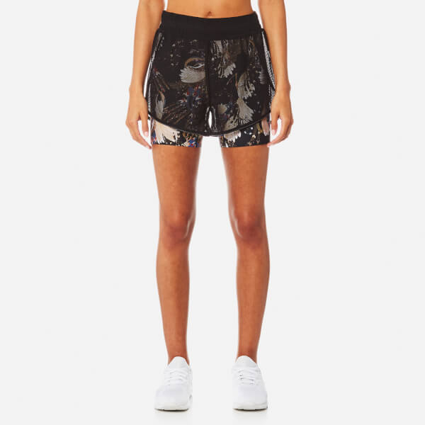 Lucas Hugh Women's Erte Shorts - Black Print