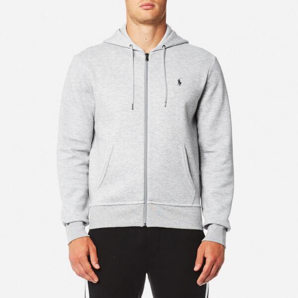 Polo Ralph Lauren Men's Double Knit Tech Zip Hoody - Light Grey: Image 1