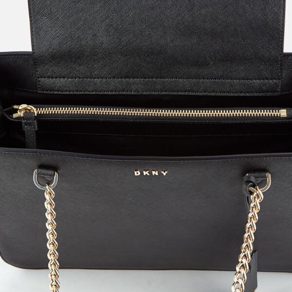 DKNY Women s Bryant Park Shopper Tote Bag - Black Womens Accessories ... c8e62b48168f4