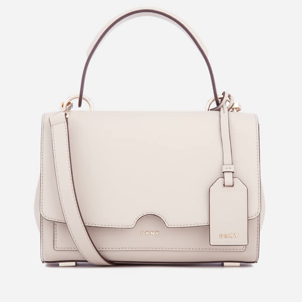 DKNY Women's Bryant Park Small Top Handle Satchel Bag - Blush Grey ...