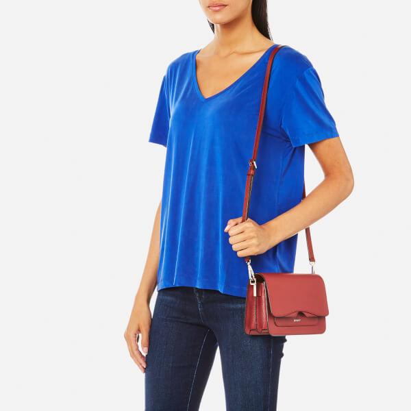 a6e080da357 DKNY Women s Bryant Park Mini Flap Cross Body Bag - Oxide Womens ...