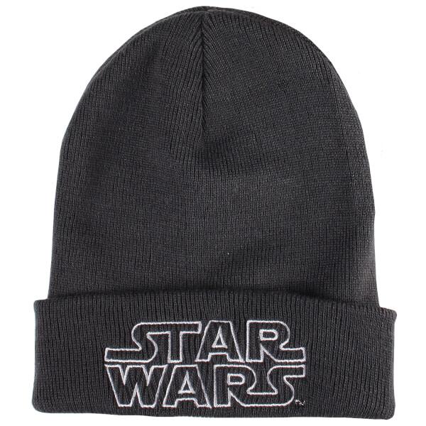 Star Wars Men's Retro Logo Beanie - Graphite Grey