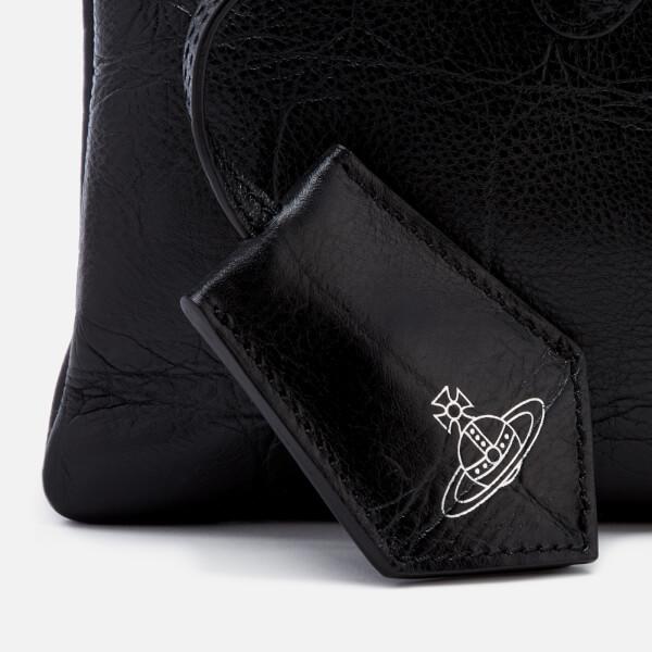 c69d647837 Vivienne Westwood Women's Canterbury Zip Clutch Bag - Black: Image 4