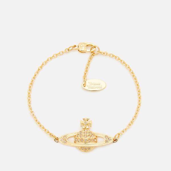 Vivienne Westwood Women's Mini Bas Relief Bracelet - Gold