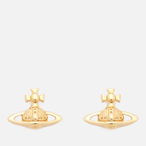 Vivienne Westwood Women's Lorelei Stud Earrings - Yellow Gold