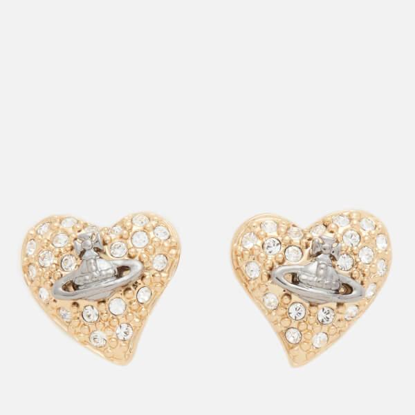 Vivienne Westwood Women's Tiny Diamante Earrings - Crystal