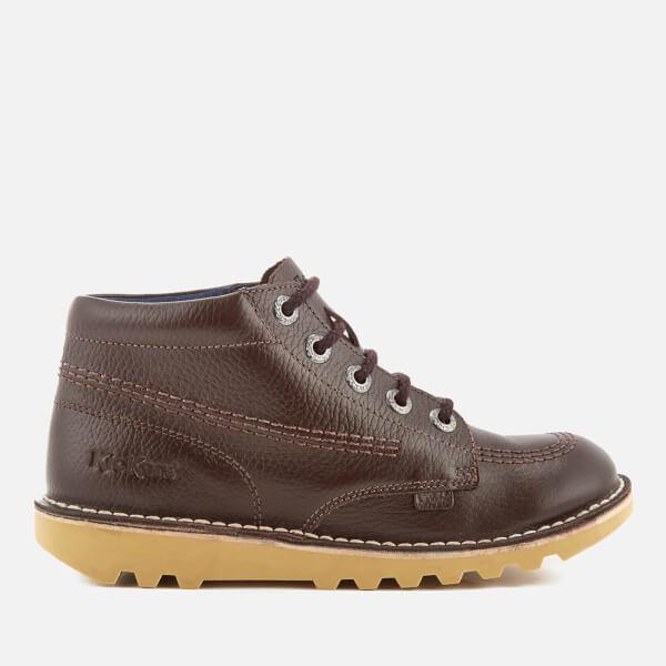 Kickers Kids' Kick Hi Boots - Dark Brown