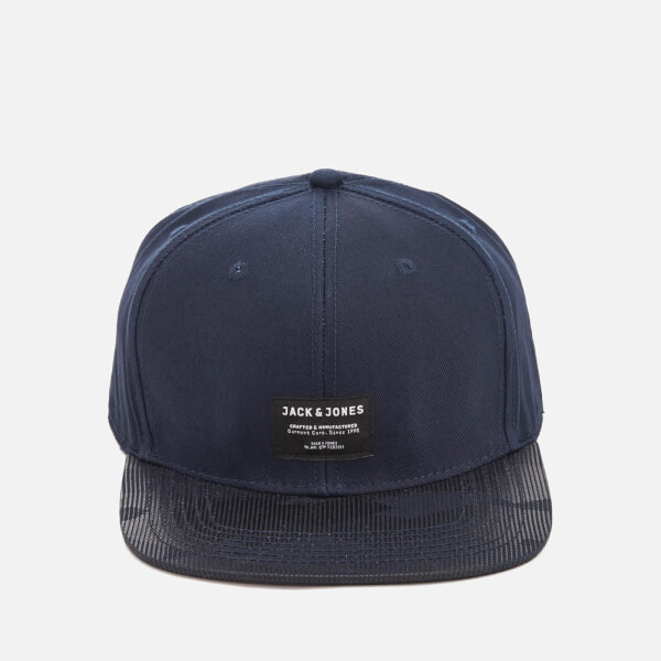 Jack & Jones Core Men's Camon Snapback Cap - Sky Captain