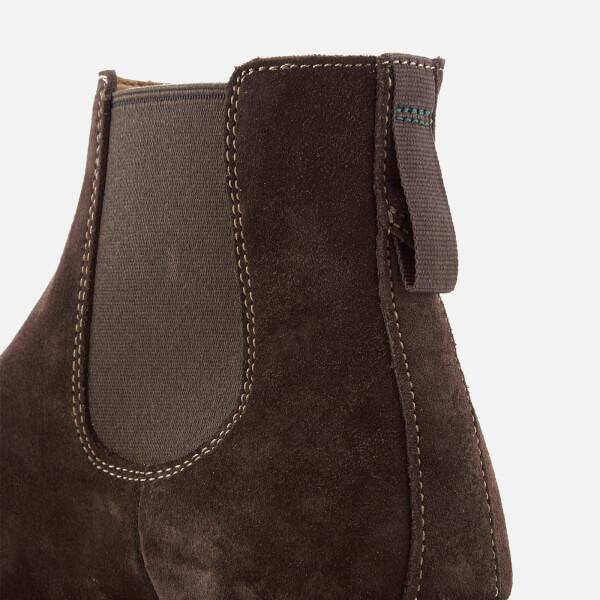 9640ecad44503a Clarks Men s Clarkdale Gobi Suede Chelsea Boots - Dark Brown  Image 6