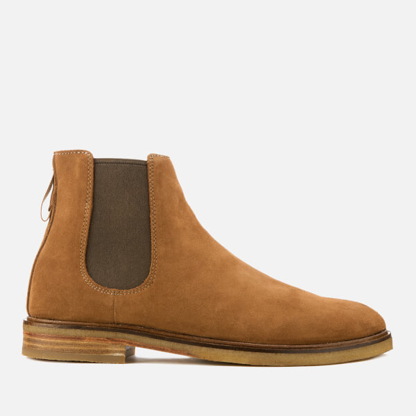 Clarks Men's Clarkdale Gobi Suede Chelsea Boots - Tobacco