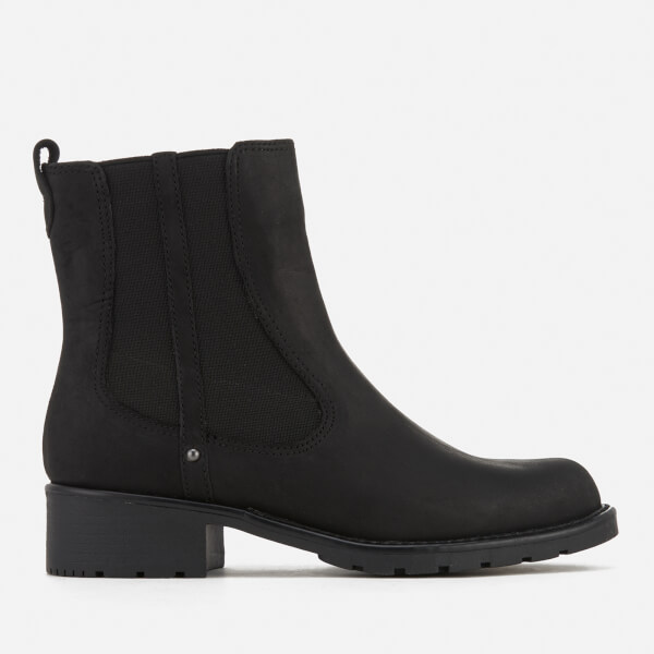 Clarks Women's Orinoco Club Leather Chelsea Boots - Black