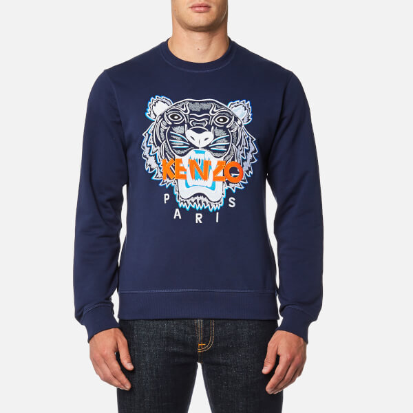 KENZO Men s Classic Icon Sweatshirt - Ink - Free UK Delivery over £50 60e85bf9daf