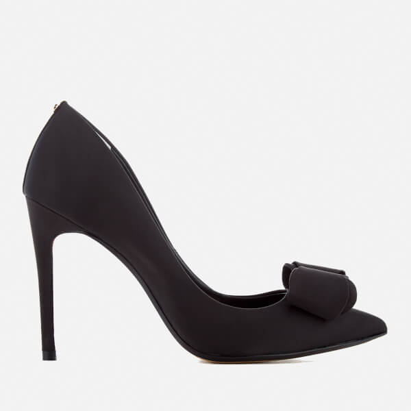 Ted Baker Women's Azeline Double Bow Court Shoes - Black