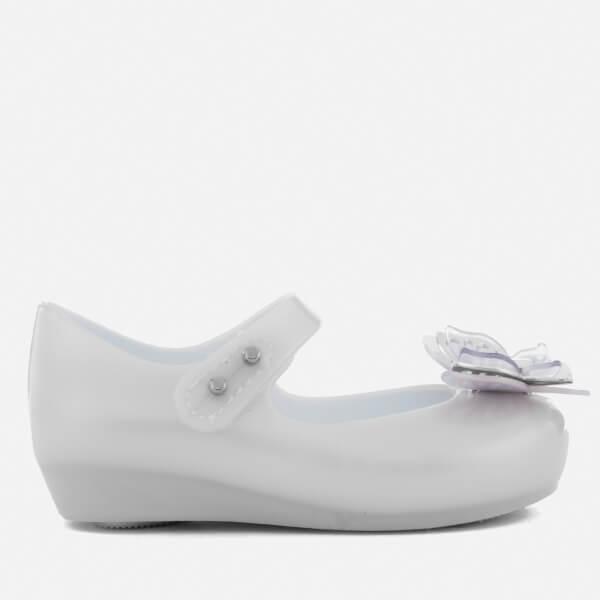 Mini Melissa Toddlers' Ultragirl Butterfly Ballet Flats - Frost