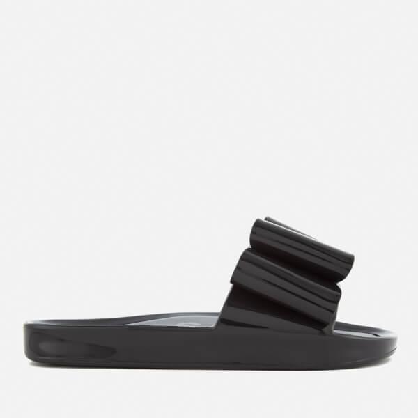 fc8e0775188a4 Melissa Women s Beach Slide Bow 18 Sandals - Black