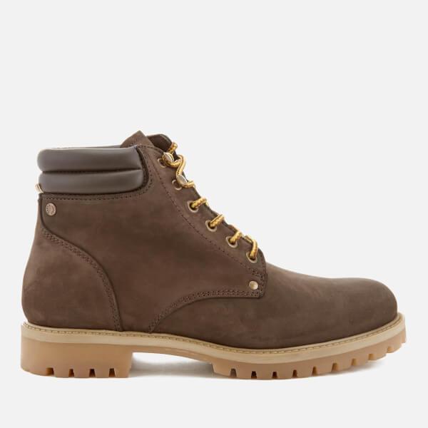 Jack & Jones Men's Stoke Nubuck Worker Boots - Java