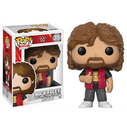 WWE Mick Foley Old School Pop! Vinyl Figure