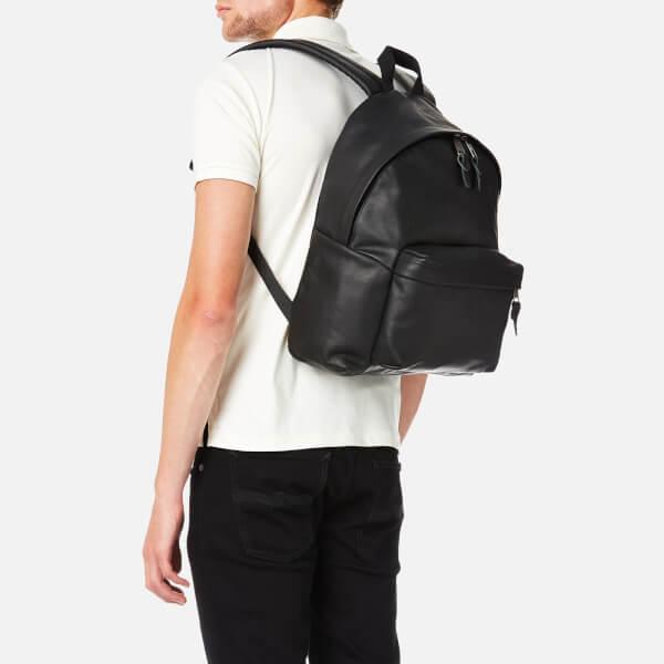 Leather Padded Pak'r Eastpak Oxrw7ogv Black Men's Pq0brs Backpack 5qqgx7wp