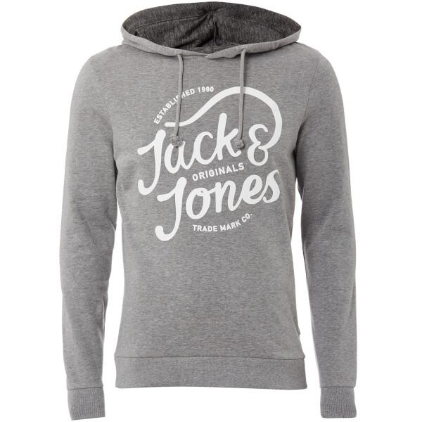 Sweat à Capuche Homme Originals Jolly Jack & Jones - Gris