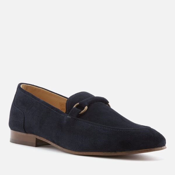 61c3b49980d Hudson London Men s Renzo Suede Loafers - Navy  Image 2
