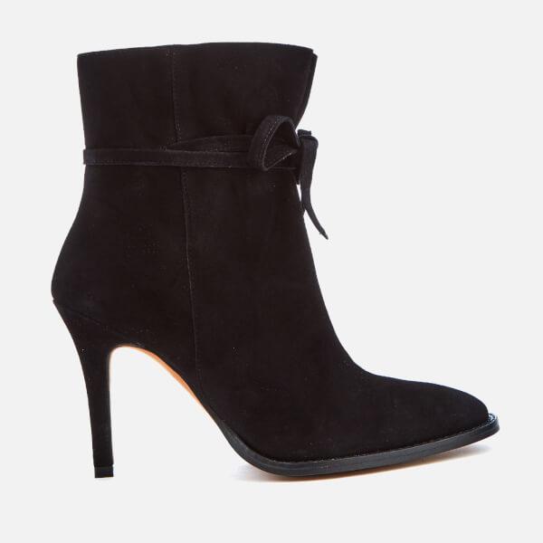 Hudson London Women's Sheena Suede Shoe Boots - Black