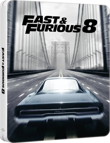 Fast & Furious 8 - Zavvi UK Exclusive Limited Edition Steelbook (Digital Download)