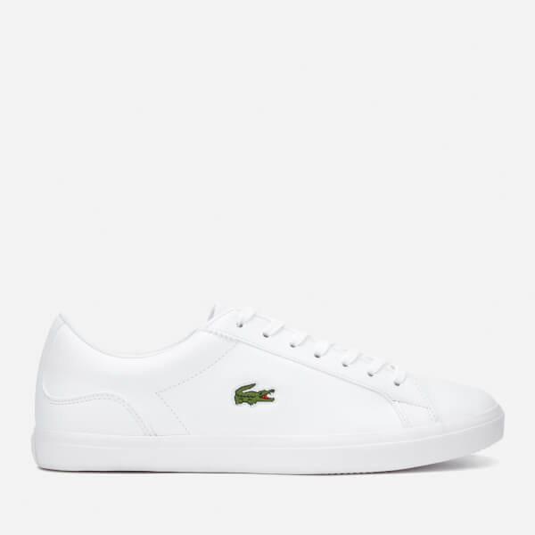 Lacoste Men's Lerond Bl 1 Leather Trainers - White