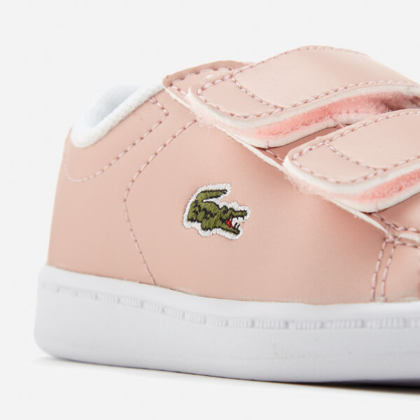 9498eafe03db1f Lacoste Toddlers  Carnaby Evo 317 6 Trainers - Light Pink  Image 6