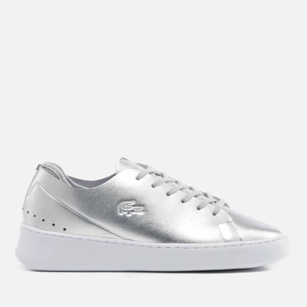 Lacoste Women's Eyyla 317 1 Trainers - Silver: Image 1
