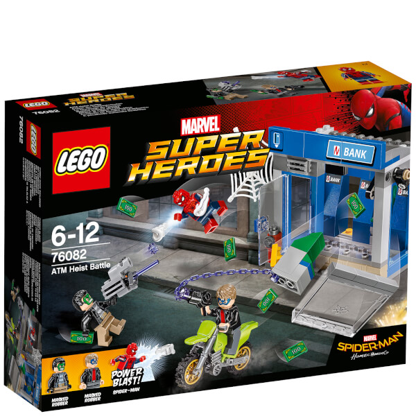 LEGO Marvel Superheroes: Spider-Man ATM Heist Battle (76082)