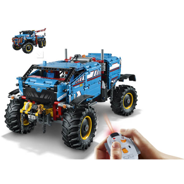 lego technic 6x6 remote control all terrain tow truck. Black Bedroom Furniture Sets. Home Design Ideas