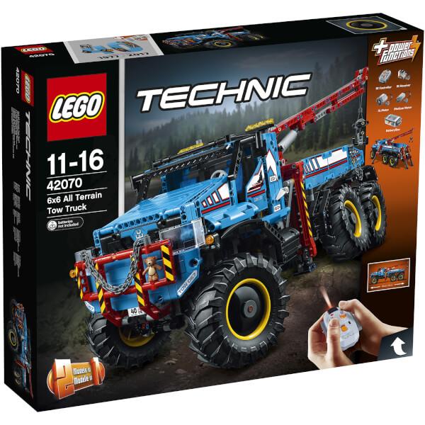 LEGO Technic: La dépanneuse tout-terrain 6x6 (42070)