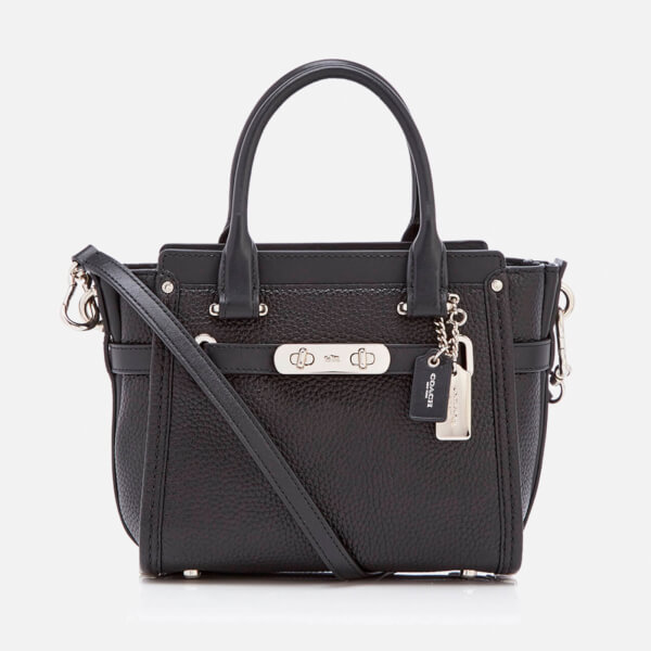 Coach Women's Swagger 21 Tote Bag - Black