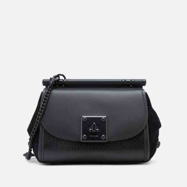 6473054afb Coach Women s Drifter Cross Body Bag - Black  Image 1