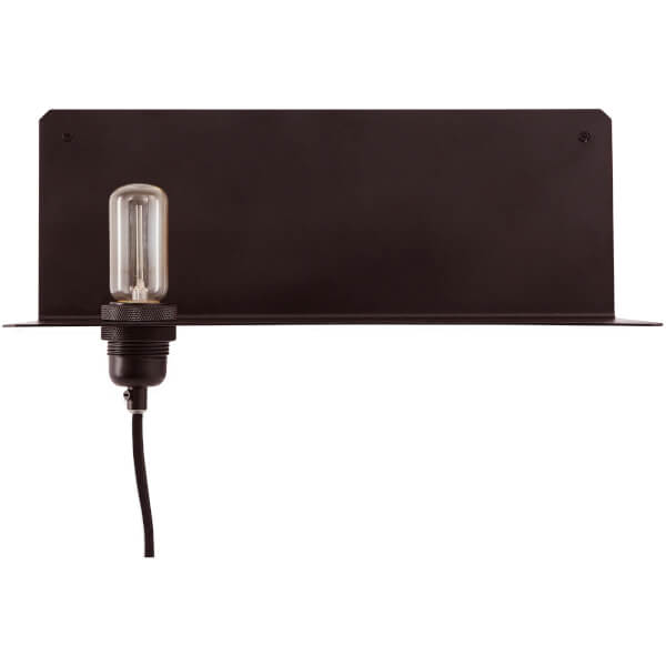 Frama 90° Wall Lamp and Shelf - Black