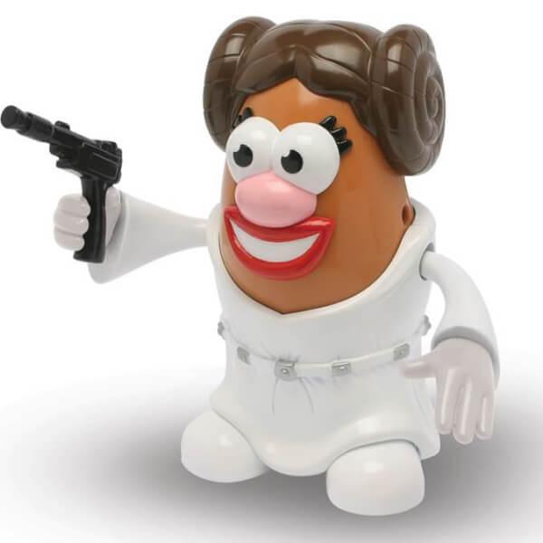 Star Wars - Princess Leia Classic Mrs. Potato Head Poptater