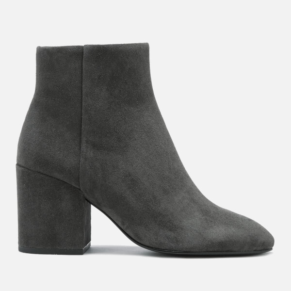 Ash Women's Eden Suede Heeled Ankle Boots - Bistro - UK 5 faz7T