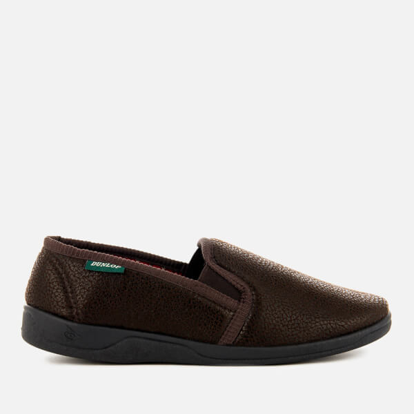 Dunlop Men's Alain Slippers - Brown