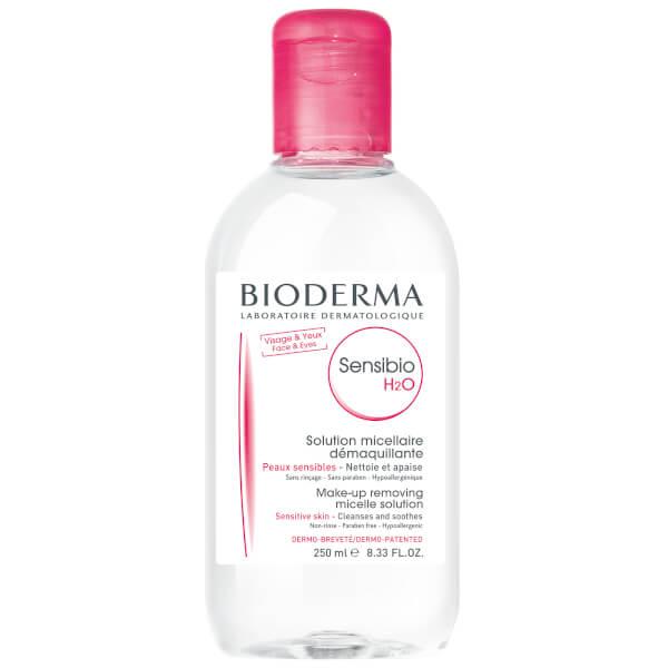 Bioderma Sensibio H2 O Make Up Removing Solution Sensitive Skin 250ml by Bioderma