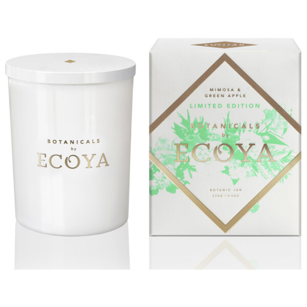 ecoya mimosa green apple botanic jar 270g limited edition buy online at ry. Black Bedroom Furniture Sets. Home Design Ideas
