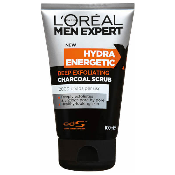 l 39 or al paris men expert hydra energetic magnetic charcoal x treme cleanser 150ml recreate. Black Bedroom Furniture Sets. Home Design Ideas