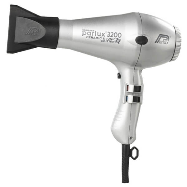 Parlux 3200 Ceramic And Ionic Hair Dryer Silver
